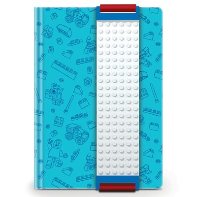 LEGO Journal with Building Band, Blue  -