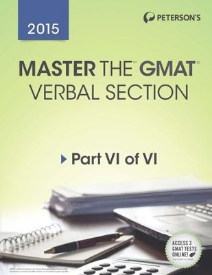 Master the GMAT: GMAT Verbal Section: Part VI of VI - eBook  -
