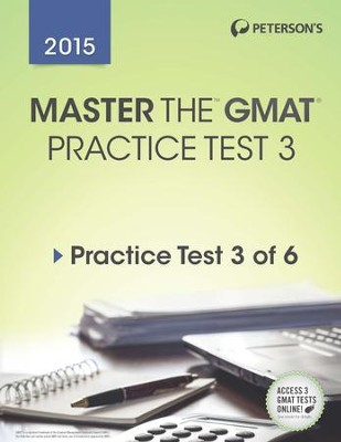 Master the GMAT: Practice Test 3: Prac Tes 3 of 6 - eBook  -