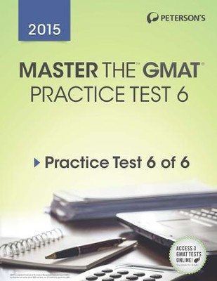 Master the GMAT: Practice Test 6: Prac Tes 6 of 6 - eBook  -