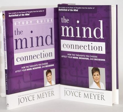 Mind Connection, Hardcover Book & Study Guide  -     By: Joyce Meyer