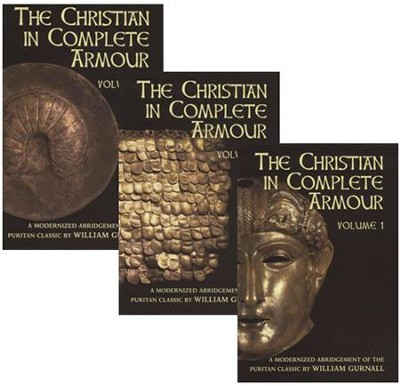 The Christian in Complete Armour - 3 Volumes   -     By: William Gurnall