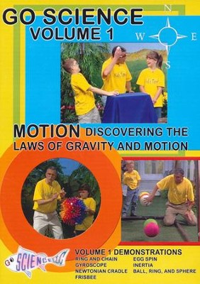 Motion: Discovering the Laws of Gravity and Motion DVD  -     By: Ben Roy