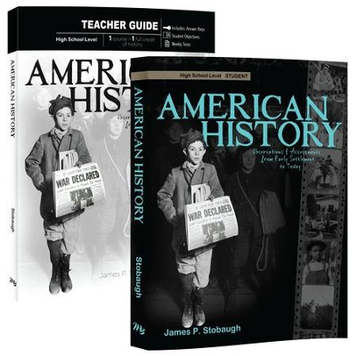 American History: Observations and Assessments from Creation to Today, Student Book & Teacher Book  -     By: James Stobaugh