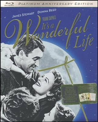 It's A Wonderful Life: 70th Anniversary Edition, Blu-ray   -