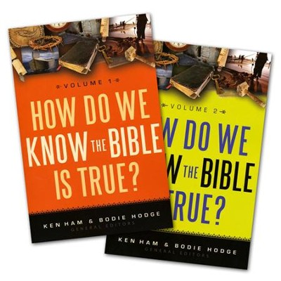 How Do We Know the Bible is True? Volumes 1 & 2 Pack   -     Edited By: Ken Ham, Bodie Hodge     By: Edited by Ken Ham & Bodie Hodge