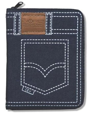 The Word CEV Denim Bible   -