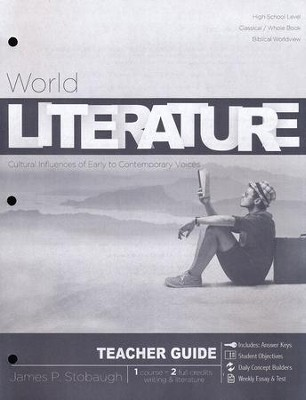 World Literature: Cultural Influences of Early to Contemporary Voices, Teacher Guide   -     By: James Stobaugh