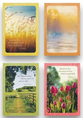 Serenity Sympathy Cards, Box of 12  -