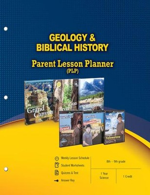 Geology & Biblical History Parent Lesson Plan  -