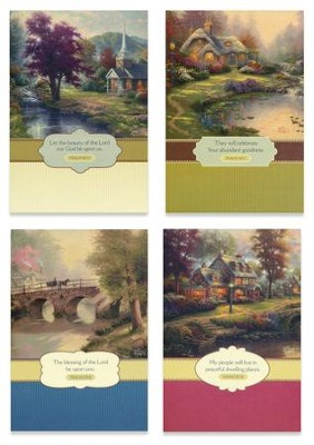 Thinking of You Cards, Thomas Kinade, Box of 12   -     By: Thomas Kinkade