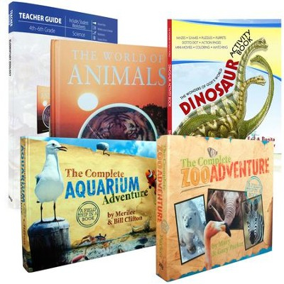 Elementary Zoology Pack, 5 Volumes  -