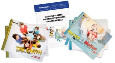 Science Starters: Elementary Physical & Earth Sciences Pack, 6 Volumes  -