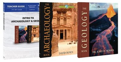 Intro to Archaeology & Geology Pack, 3 Volumes The Wonders of Creation Series  -