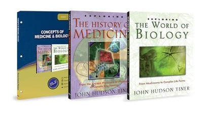 Concepts of Medicine & Biology Pack, 3 Volumes  -     By: John Hudson Tiner