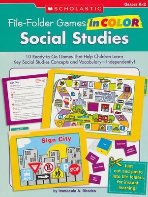 File-Folder Games in Color: Social Studies  -     By: Immacula Rhodes