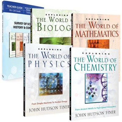 Survey of Science History & Concepts Pack, 5 Volumes  -     By: John Hudson Tiner