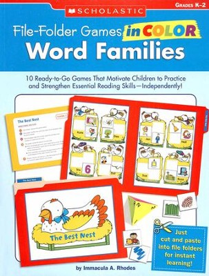 File-Folder Games in Color: Word Families  -     By: Immacula Rhodes