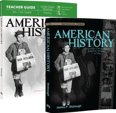 American History Pack, 9th-12th Grade, 2 Volumes  -     By: James Stobaugh     Illustrated By: Y
