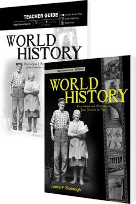 World History Pack, 9th-12th Grade, 2 Volumes  -