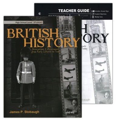British History Pack, 9th-12th Grade, 2 Volumes  -     By: James Stobaugh