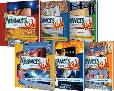Answers Books for Kids, Volumes 1-6  -     By: Ken Ham, Bodie Hodge