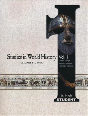 Studies in World History Volume 1, Student Book   -     By: James Stobaugh