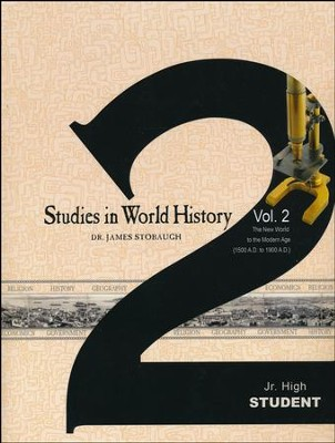 Studies in World History Volume 2, Student Book   -     By: James Stobaugh