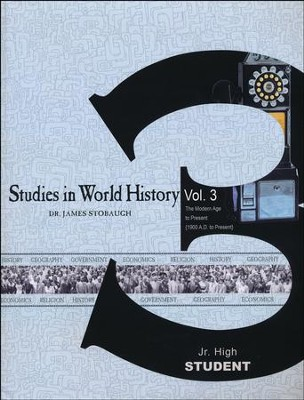 Studies in World History Volume 3, Student Book   -     By: James Stobaugh