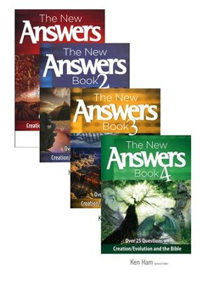 New Answers Books, Volumes 1-4  -     By: Ken Ham