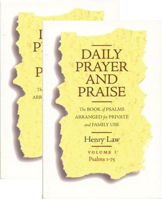 Daily Prayer and Praise 2 Volume Set  -     By: Henry Law