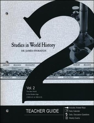 Studies in World History Volume 2, Teacher's Guide  -     By: James Stobaugh