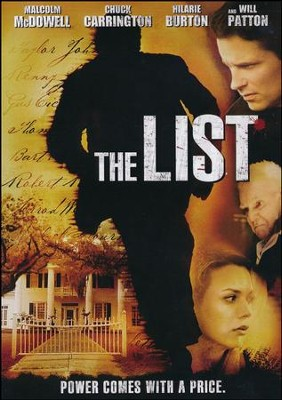 The List, DVD   -