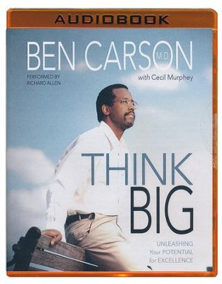 Think Big, Unabridged MP3-CD   -     Narrated By: Richard Allen     By: Ben Carson, Cecil Murphey