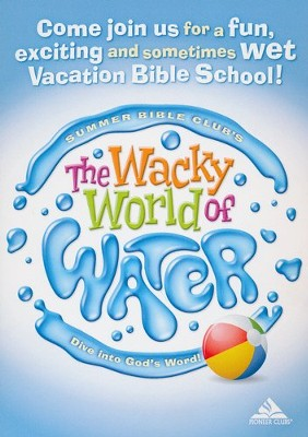 The Wacky World of Water VBS: Dive into God's Word! Postcard (25 pack)   -