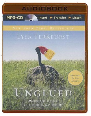Unglued, Unabridged MP3-CD   -     Narrated By: Lysa TerKeurst     By: Lysa TerKeurst