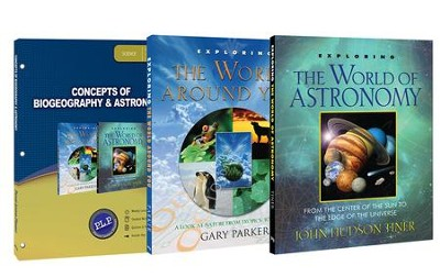 Concepts of Biogeography & Astronomy Pack, 3 Volumes  -