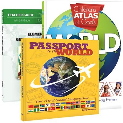 Elementary Geography & Cultures Pack, 3 Volumes  -