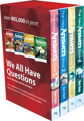 New Answers Book Box Set Volumes 1-4   -     By: Ken Ham