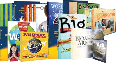 Master Books 3rd-6th Grade Curriculum Set with Chemistry and Physics  -