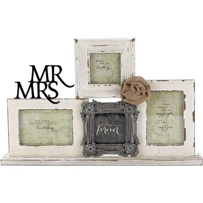 Mr. and Mrs. Tabletop Photo Frame  -