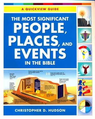 The Most Significant People, Places, and Events in the Bible: A Quickview Guide  -     By: Christopher Hudson