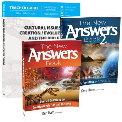 Cultural Issues Pack, 3 Volumes: Creation/Evolution and the Bible  -
