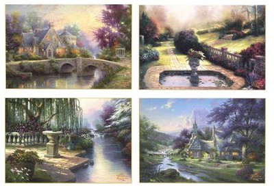 Painter Of Light Thank You Cards   By: Thomas Kinkade