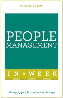 Successful People Management in a Week: Teach Yourself / Digital original - eBook  -