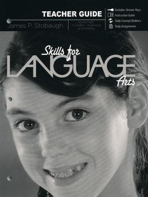 Skills for Language Arts, Teacher Book  -     By: James Stobaugh