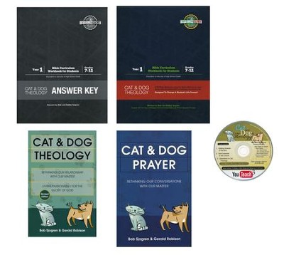 Cat and Dog Theology Year 1 High School Complete Curriculum Kit  -     By: Bob Sjogren