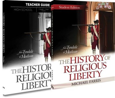 The History of Religious Liberty Pack, 9th-12th Grade, 2 Volumes  -