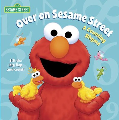 Over on Sesame Street (Sesame Street): A Counting Rhyme - eBook  -     By: Naomi Kleinberg