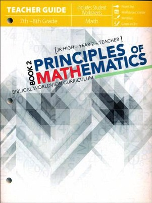 Principles of Mathematics Book 2, Teacher Guide   -     By: Katherine Loop